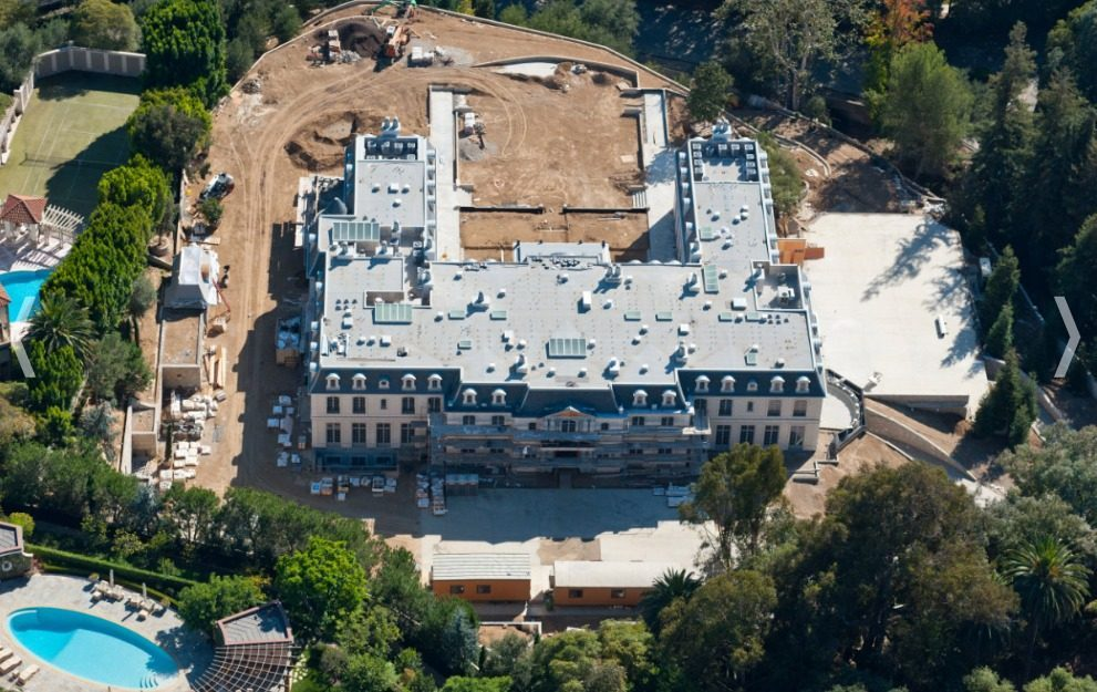 Los Angeles S Biggest House Is Under Construction In Bel Air